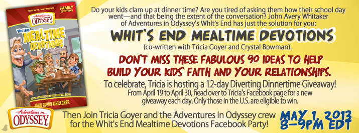 12-Day Diverting Dinnertime Giveaway