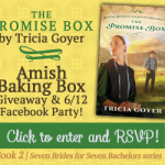Enter to win an Amish Baking Box and RSVP for My 6/12 Facebook Party!