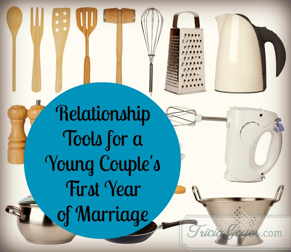 Forget the crystal stemware. There are more-practical marriage tools ...