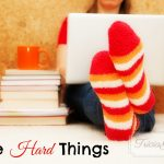 Write Hard Things (Advice from Your Favorite Authors) | Plus a Giveaway