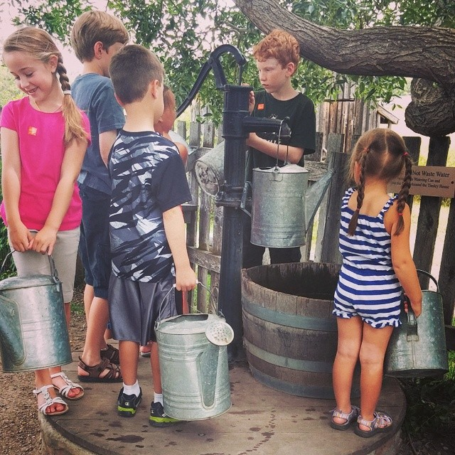 From our visit to the Museum of the Rockies - Pumping Water!