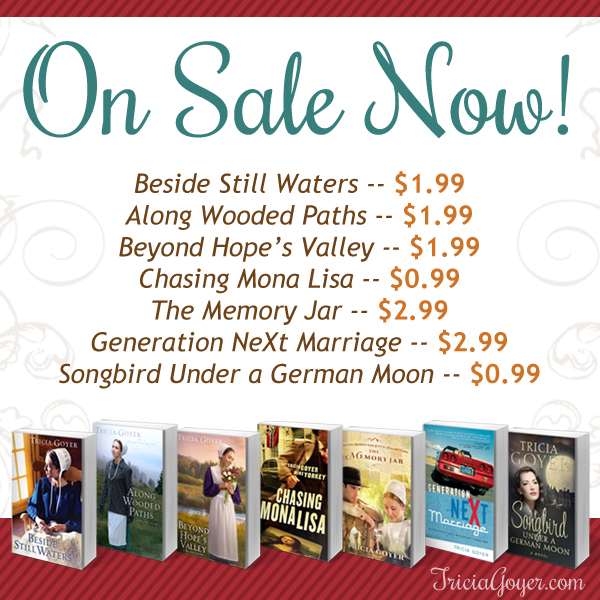 Tricia Goyer Books On Sale!