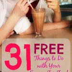 31 FREE Things To Do With Your Spouse For Fun!