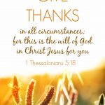 Give Thanks! | 1 Thessalonians 5:18