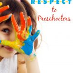 Teaching R-E-S-P-E-C-T to Preschoolers