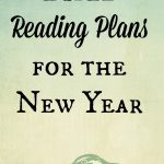Bible Reading Plans for the New Year