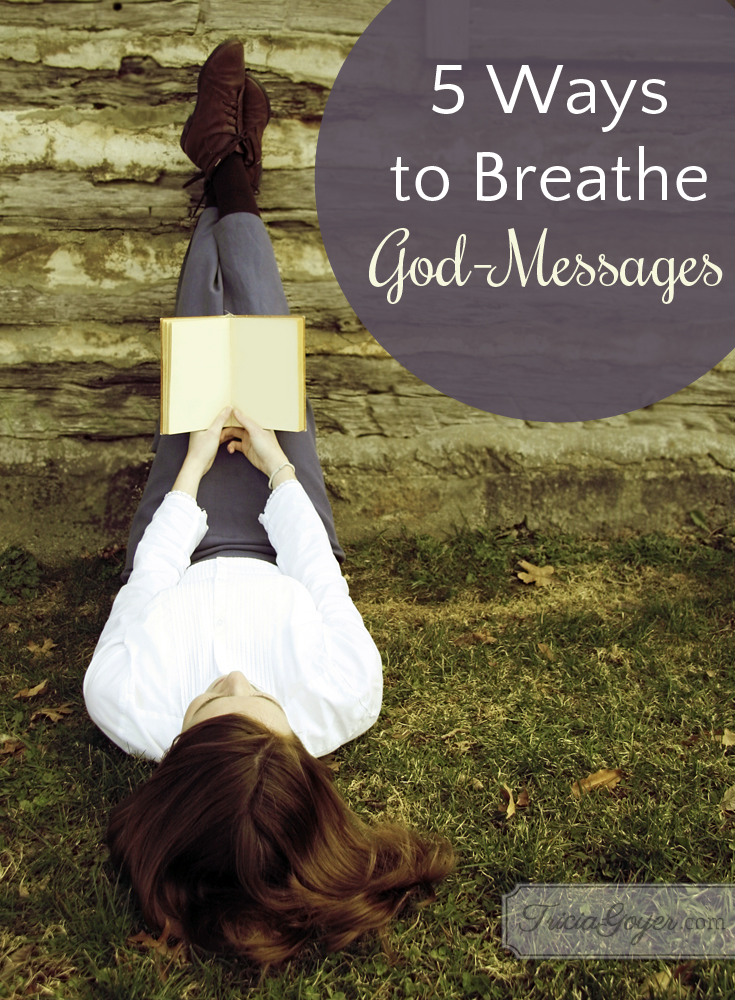 breathe god messages