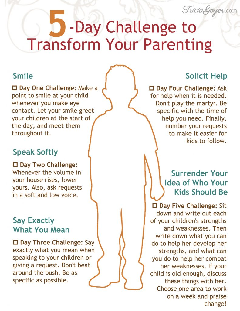 5 simple ways to transform your parenting