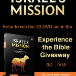 Last Day to Enter Ray Vander Laan's Experience the Bible Giveaway!