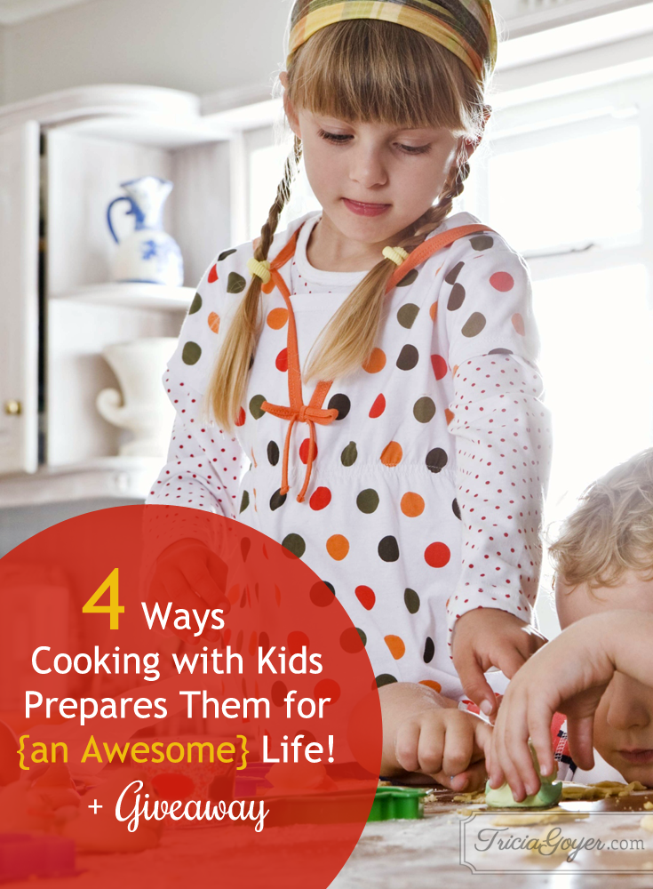 How does cooking with your kids make a difference? Find out at TriciaGoyer.com & enter to win a Raddish 3-mo subscription