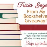 From My Bookshelves Giveaway!