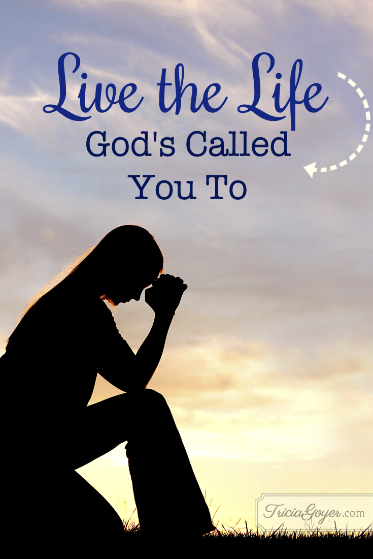 Tricia Goyer shares an important lesson from Mother Teresa's life, live the life God's called you to!