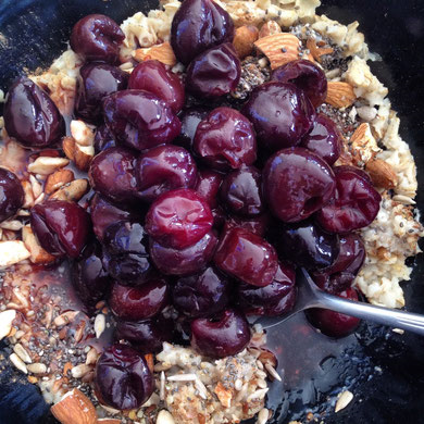 Cherry Oatmeal Bowl