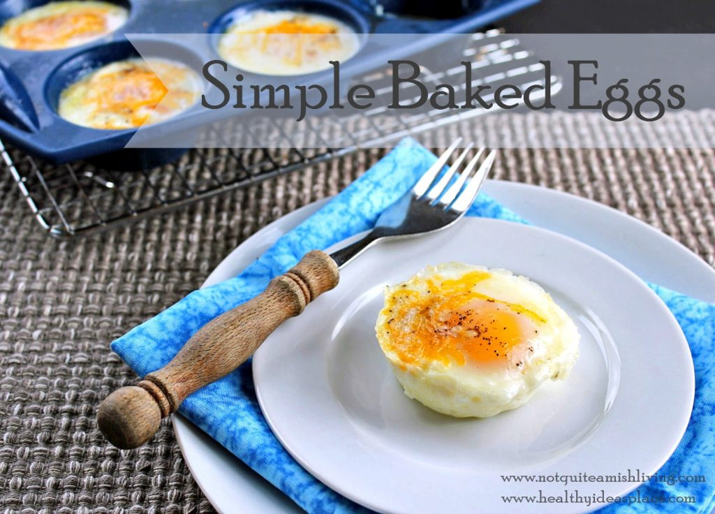 Simple Baked Eggs 3