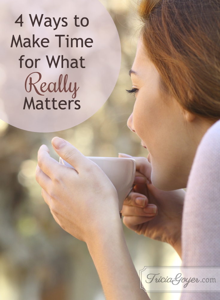 4 ways to make time for what really matters. #ECCUmoments