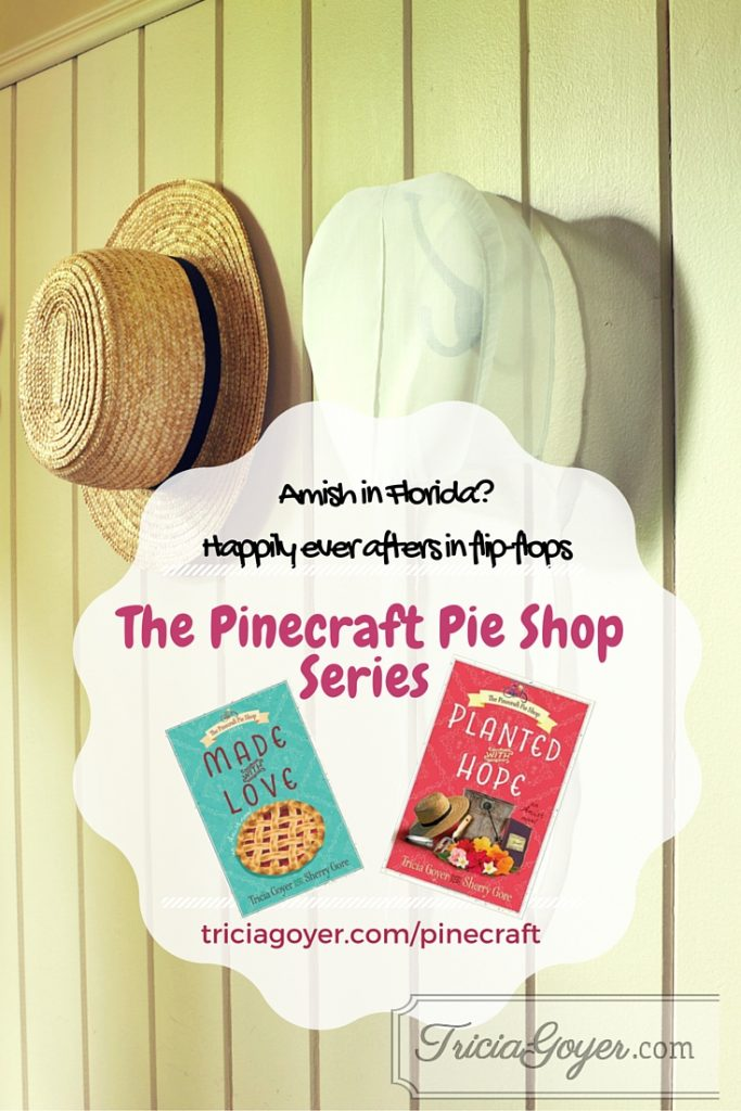 The Pinecraft Pies Shop series by Tricia Goyer and Sherry Gore