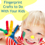 15 Fingerprint Crafts to Do With Your Kids