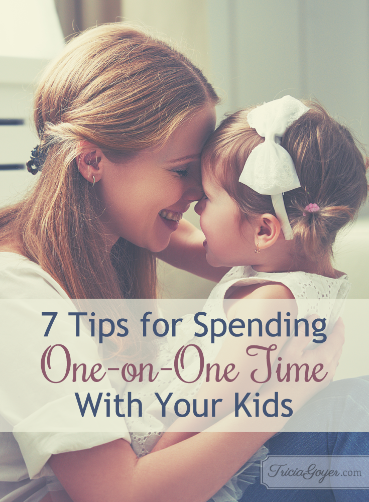 7 ways to spend one-on-one time with your kids