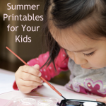 FREE Summer Printables for Your Kids