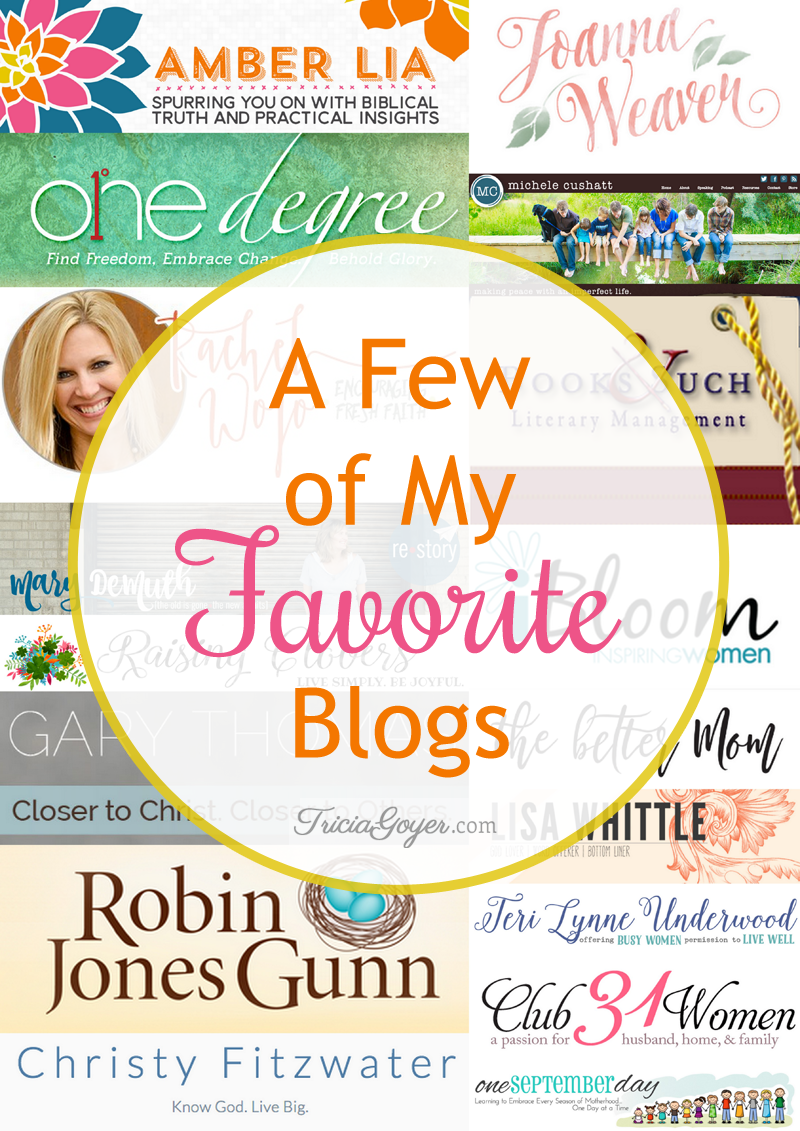 a few of my favorite blogs!