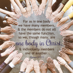 One Body in Christ | Romans 12:4-5