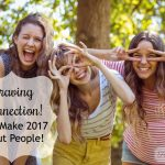 Craving Connection! Let's make 2017 about people {+giveaway!}