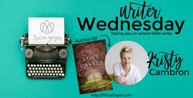 Writer Wednesday Kristy Cambron