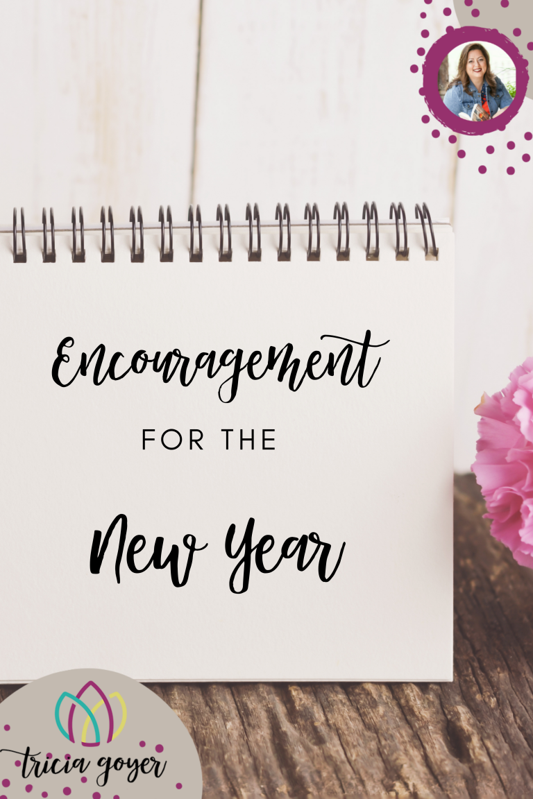 Encouragement for the new year