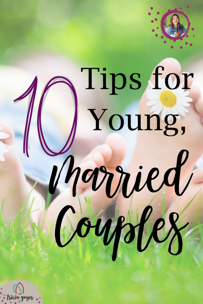 I asked my Facebook friends who have been married for at least twenty years what advice they'd give to a young, married couple, and I loved their answers! I have such wise friends. Pass on these on to any young, married couples you know!