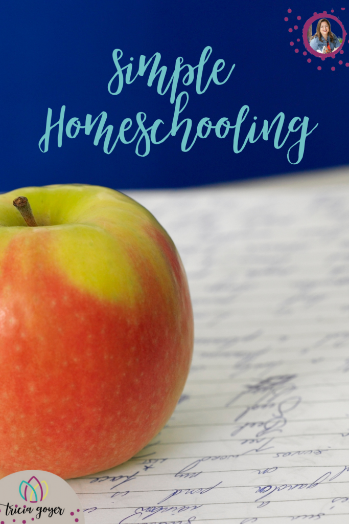 Simple Homeschooling. Today I want to share how I have followed God's specific calling on my life while I also followed His call to home educate my children.