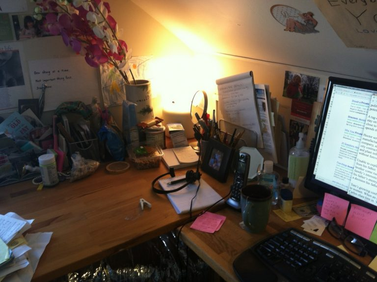 My Writing Desk   Lisa Takeuchi Cullen