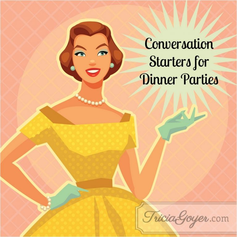 Conversation Starters for Dinner Parties