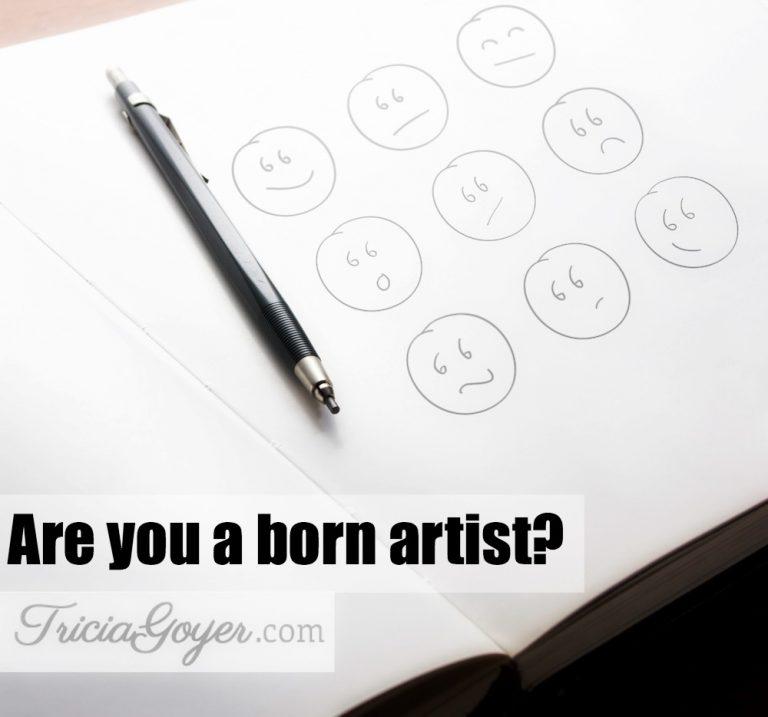 Are You a Born Artist?