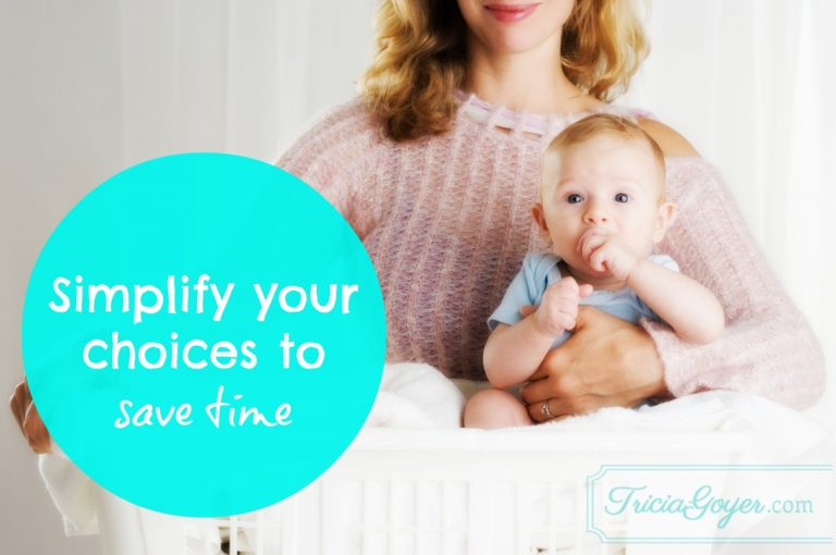 Simple Living: Simplify Your Choices to Save Time