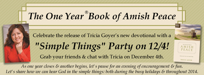 "You're Invited to My ""Simple Things"" Facebook Party"