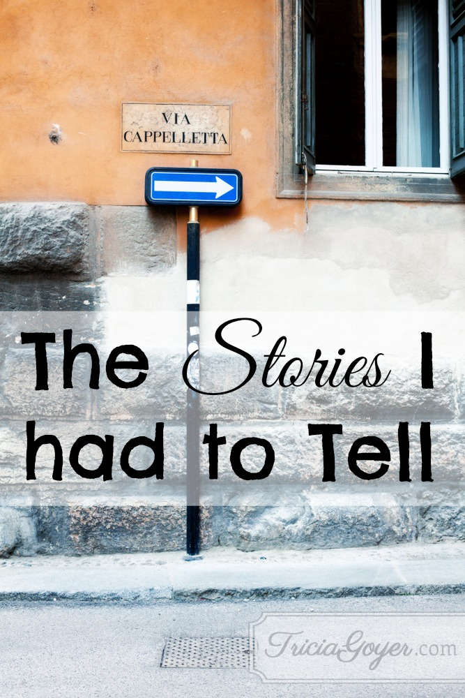 The Stories I Had to Tell
