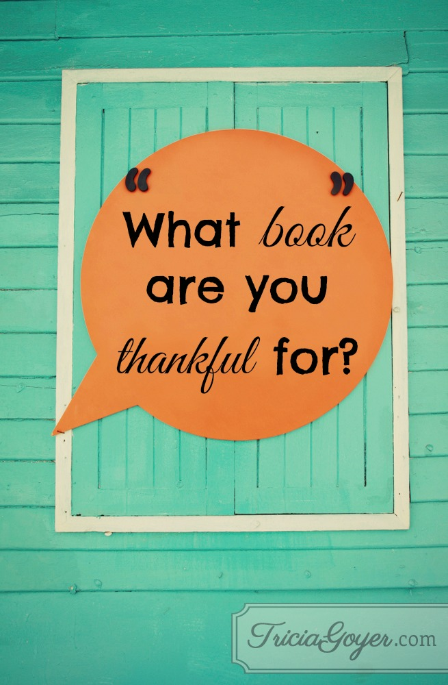 What Book are You Thankful For?