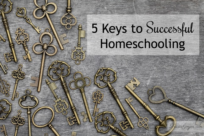 5 Keys to Homeschooling Success