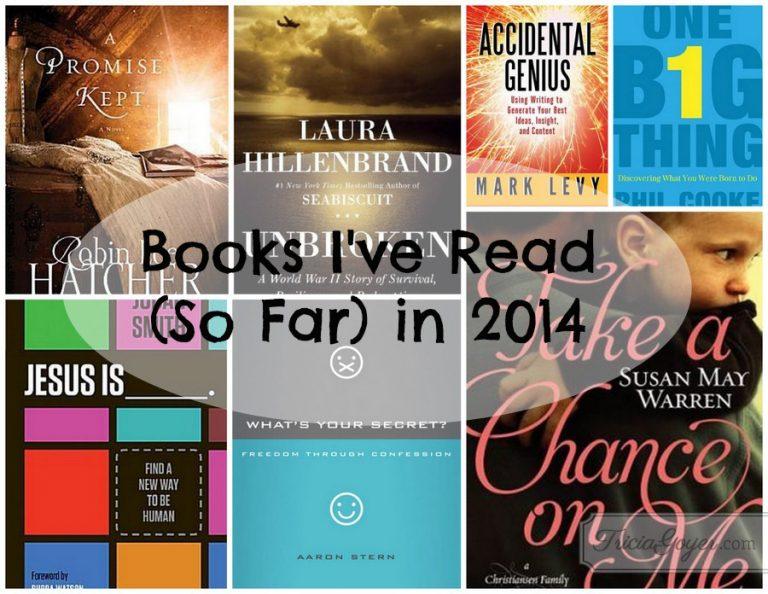 Books I've Read (So Far) in 2014