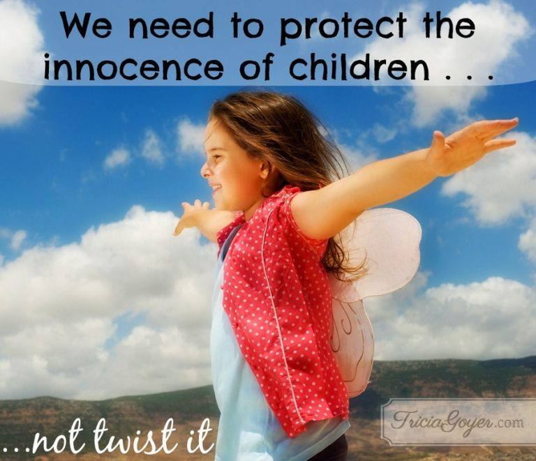 We Need to Protect the Innocence of Children, Not Twist It