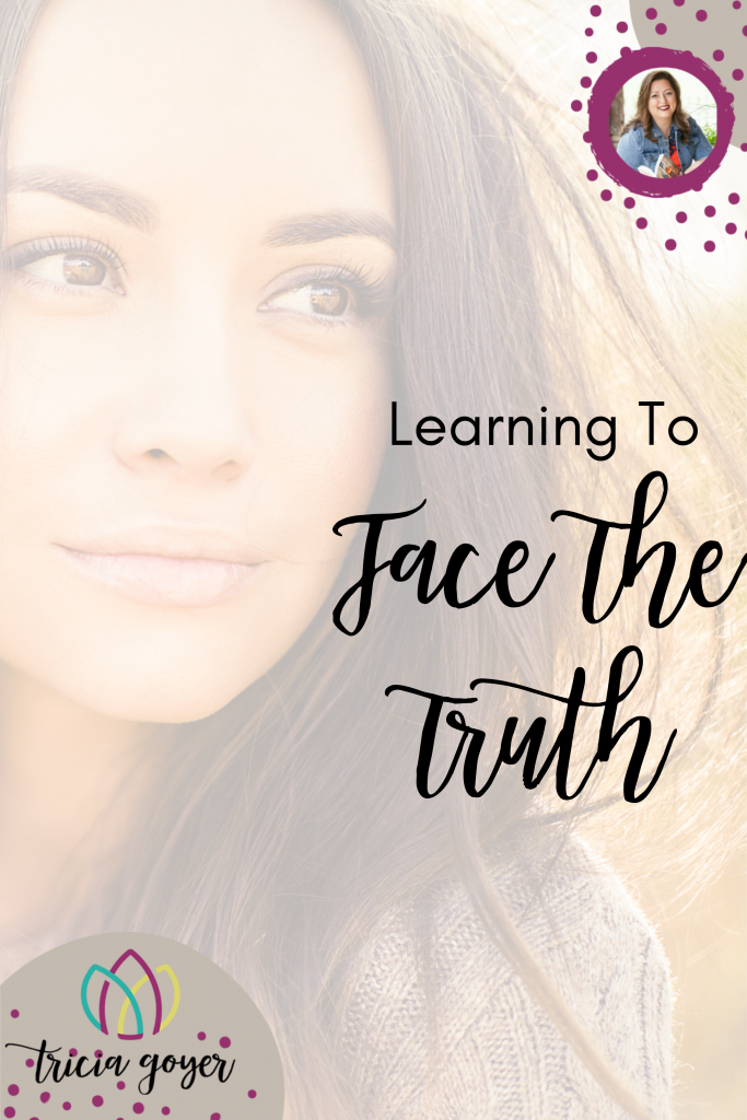 Learning to Face The Truth- Tricia Goyer shares how she found freedom from the shame of her abortion