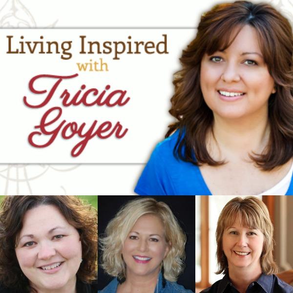 Podcast: Living Inspired: Beth Wiseman, Kathleen Fuller, and Vannetta Chapman