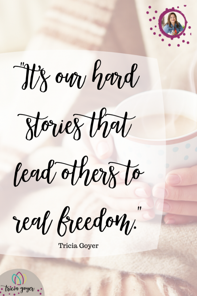 It's our hard stories that lead others to real freedom. Tricia shares her journey in learning how to be transparent in healing from her abortion.
