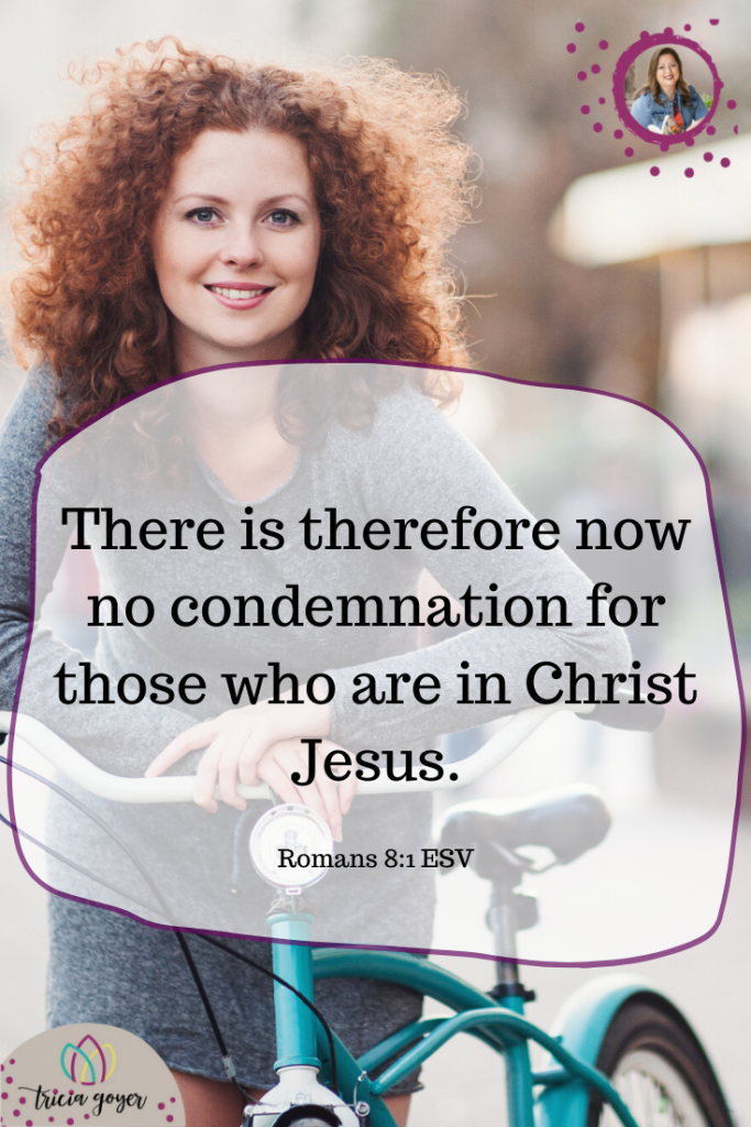 What a blessed promise to those who repent! Tricia Goyer's blog post: Learning to Face The Truth (her story of abortion and healing)