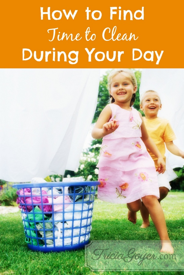 How to Find Time to Clean During Your Day: Balanced Series Day 6