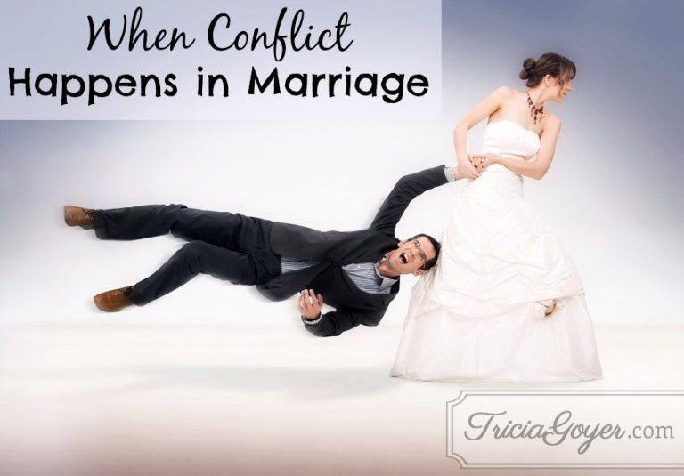 When Conflict Happens in Marriage