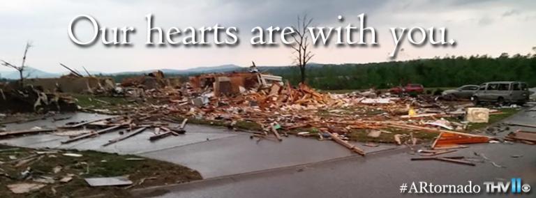 Help for Mayflower, Arkansas Tornado Victims