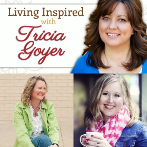 Podcast: Living Inspired: Mary DeMuth and Holley Gerth