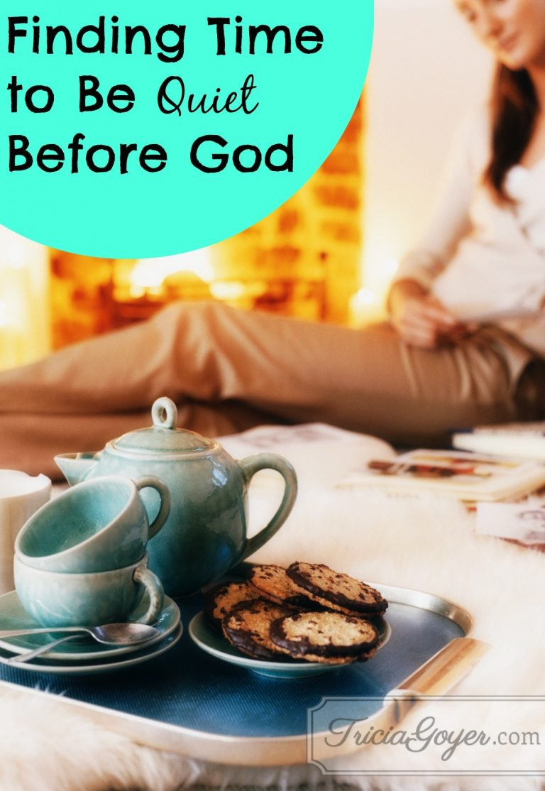 Finding Time to Be Quiet Before God | No More Frumpy Mommy 'Moms' Night Out' Challenge Day 10