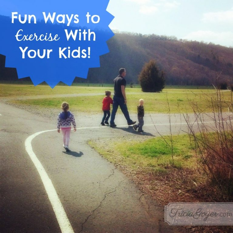 Fun Ways to Exercise With Your Kids! | No More Frumpy Mommy 'Moms' Night Out' Challenge Day 4